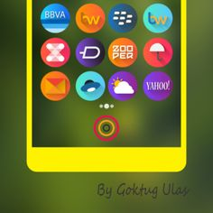 Download Graby Spin – Icon Pack android for Free    Graby Spin Icon Pack – The shaped with gradient colored background icon pack for android customization.    http://apk-best.com/graby-spin-icon-pack/