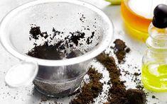 Le marc de caf� pour soins