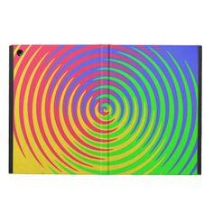 Rainbow Spiral iPad Air Case
