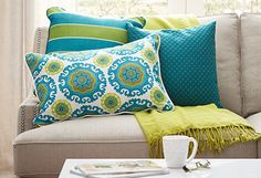 Easy Updates from $20 - Retouch with Pillows, Throws & Curtains | Joss and Main