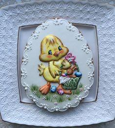 Easter Cookies, Fun Cookies, Cupcake Cookies, Sugar Cookies, Decorated Cookies, Cupcakes, Paint Cookies, No Sugar Foods, Cake Art