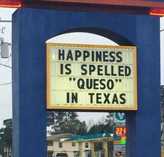 Queso = happiness
