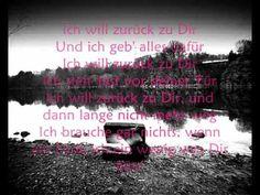 Söhne Mannheims - Zurück zu dir (mit lyrics)