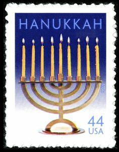 Happy Hanukkah from World Stamp Show - NY 2016!