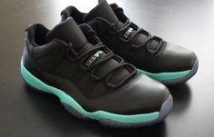 "Air Jordan 11 ""Black Tiffany"" Custom omg I love the matte finish Air Jordan 11 Low, Air Jordan Shoes, Jordan Xi, Nike Air Jordans, Retro Jordans, Nike Free Shoes, Nike Shoes, Shoes Sneakers, Tennis"
