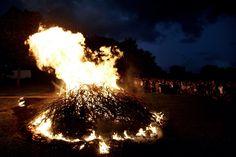 Sankt Hans bål (Midsummer bonfire), Denmark