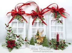 Christmas Window Ornaments by kittie747 - Cards and Paper Crafts at Splitcoaststampers