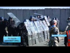 NATO-EU Anti-Riot Drill in Kosovo: Over 700 members from NATO peace-support operation take part - YouTube