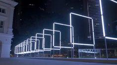 160 - INSTALLATION #LUMINEUSE #INTERACTIVE - — 160 —une installation multisensorielle créée par Pierre & Joël RODIÈRE de Trafik, produite par TETRO et présentée à Singapour, au River Nights Festival 2015, sur l'invitation de l'Asian Civilisations Museum(http://acm.org.sg).