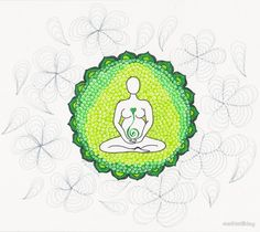 Green Big Mother drawing by mathistillday  Background and history – I draw this Big Mother thinking to green fields.  Features – ThisGreen pregnancy Goddess helps all women to flow on their life throught their divine light. Goddess bless you!  #spiritual #meditation #pregnancy