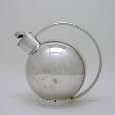 Cocktail Shaker, Germany, c. 1930 Silver. Attributed to Bauhaus designer Marianne Brandt