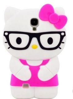HJX Peach S4 i9500 New Fashion Super Cute 3D Cartoon Hello Kitty Design Glasses Pattern Soft Silicone Case Cover For Samsung Galaxy S4 i9500, http://www.amazon.com/dp/B00DGSGQKQ/ref=cm_sw_r_pi_awd_Kf0rsb1TE5C10