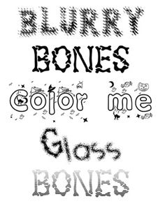 fonts 4 teachers deluxe to make scary handwriting or decorative worksheets for halloween with fonts - Halloween Writing Font