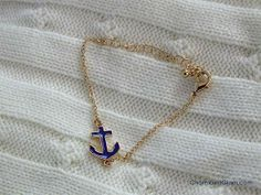 #anchorbracelet from #RingsandTings
