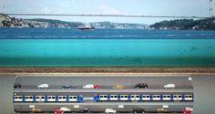 Der Eurasien-Tunnel (türkisch Avrasya Tüp Tüneli) ist ein 5,4 km langer Straßentunnel unter dem Bosporus in Istanbul. Etwa einen Kilometer nördlich befindet sich der Eisenbahntunnel Marmaray. Der Bau wurde am 26. Februar 2011 begonnen, am 22. August 2015 erfolgte der Durchstich. Am 20. Dezember 2016 wurde er für den Verkehr freigegeben.