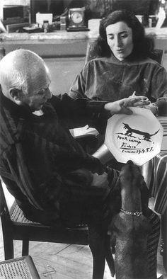 Picasso and Lump - http://fourandsons.com/2011/10/26/picasso/