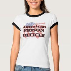 American Prison Officer T Shirt, Hoodie Sweatshirt