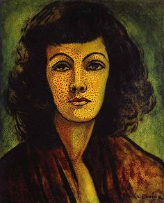 Portrait de femme I, par Francis Picabia