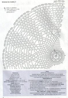 Ideas Crochet Granny Square Diagram Charts Free Pattern For 2019 Crochet Doily Diagram, Crochet Mandala, Crochet Stitches Patterns, Crochet Chart, Thread Crochet, Crochet Motif, Crochet Doilies, Crochet Granny, Diagram Chart