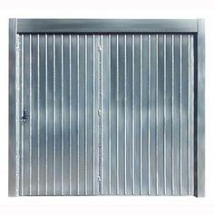 Portão de Aço Galvanizado, Metal e Alumínio em 12X