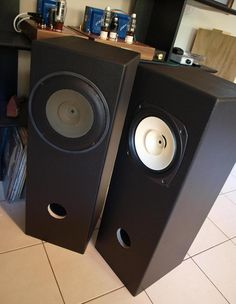 Fostex FE206En Double Bass Reflex Speakers