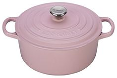 Le Creuset of America Signature Cast Iron Round Dutch Oven, 7-1/4-Quart, Hibiscus, http://a.co/cLbMD5Y