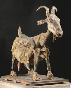 Pablo Picasso, The Goat, 1950, Palm leaf, iron, plaster, Picasso Museum, Paris