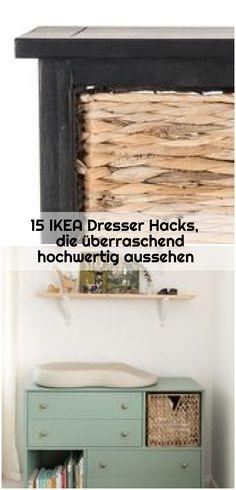 15 IKEA Dresser Hacks, die überraschend hochwertig aussehen , 15 IKEA Dresser Hacks, die überraschend hochwertig aussehen #aussehen #dresser #hacks #hochwertig #uberraschend... ,  #aussehen #die #Dresser #hacks #hochwertig #Ikea #überraschend Ikea Dresser Hack, Hacks, Porn, Organization, Storage, Furniture, Home Decor, Getting Organized, Purse Storage