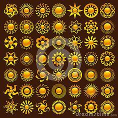 Sun Designs by Michel Marcoux, via Dreamstime