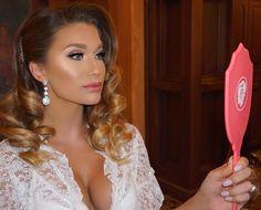 "Jade Marie on Instagram: ""She's Unworldly Gorgeous... ✨ My stunning Airbrush bride this morning in Florida details soon... #Jadeywadey180 #180Glam"""