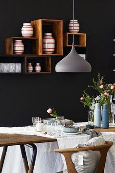 brun'o interiør: Festbordstyling i butikken!