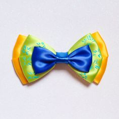 Inside Out Joy Inspired Bow by ExtraSweetBowtique on Etsy $8