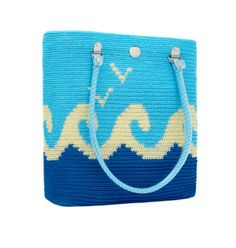 Waves skipper from Skipping girl  #skippinggirl #skipper #carryall #love #myaddiction #classic #handmade