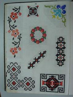 VBpag088 (Large) | www.binecusut.ro | Flickr Crochet Squares, Loom, Cross Stitch Patterns, Toyota, Bohemian Rug, Alphabet, Diy Crafts, Rugs, Crossstitch