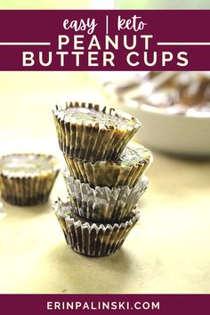 These copycat chocolate peanut butter cups are keto friendly with only 2 carbs and 16 calories! Easy to make and great for a quick and easy snack idea!