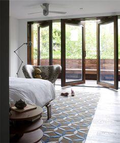Chelsea Townhouse interior master bedroom