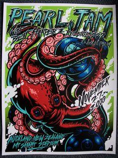 Pearl Jam Vintage Poster