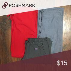 Lot of 3 Sz XS Scrub Pants Lot of 3 XS Scrub Pants. 1 pair of Cherokee Scrub bottoms Cherokee Pants