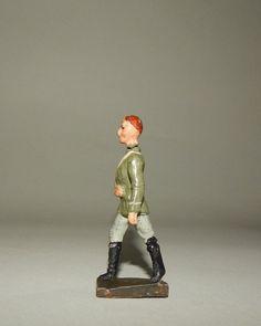 """""""Soldat am Arm verwundet"""" von Fröha - 7,5 cm Massesoldat für Sanitätsleben"""