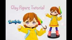 Lovely4u |VO74|Handcraft Class 1| DIY |Creative Clay Figurine Tutorial