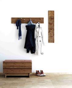 portemanteau design bois