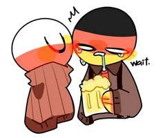 Cute N Country, Country Art, Hetalia, Germany Poland, Russian Memes, Fandom, Human Art, Anime Eyes, Anime Comics