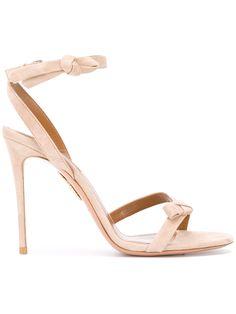 AQUAZZURA bow detail sandals.