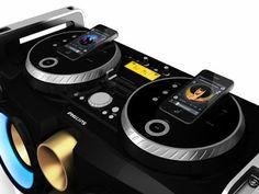 EL INFORMATORIO: Party Machine: Philips diseñó equipo de audio para animar fiestas hogareñas como un DJ profesional