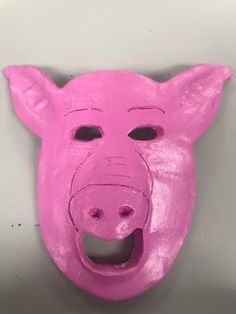 Bre Art Clay Masks, Piggy Bank, Art, Art Background, Money Box, Kunst, Money Bank, Performing Arts, Savings Jar