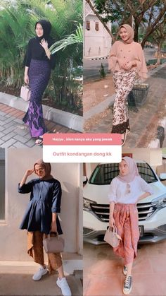 Modern Hijab Fashion, Batik Fashion, Hijab Fashion Inspiration, Muslim Fashion, Ootd Fashion, Fashion Outfits, Kebaya Hijab, Kebaya Dress, Model Kebaya Modern