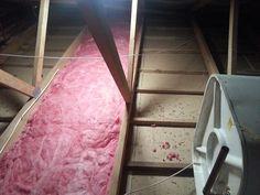 think pink aerolite insulation installing