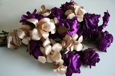 Fabric flower,  Textile flowers,