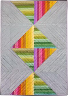 Spectrum Candy quilt