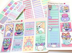 Luna Lovegood Stickers Free Planner, Printable Planner, Happy Planner, Harry Potter Planner, Harry Potter Printables, Printable Stickers, Planner Stickers, Home Management Binder, Passion Planner